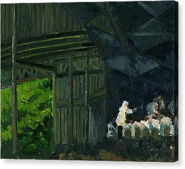 Christoph Von Dohnanyi At Tanglewood Canvas Print by Jennifer Fox