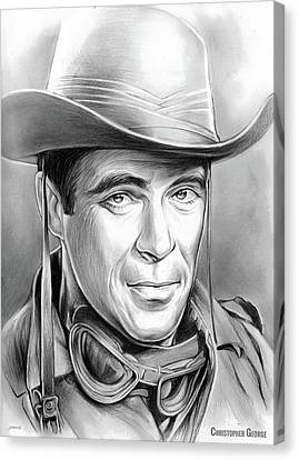 Christopher George Canvas Print by Greg Joens