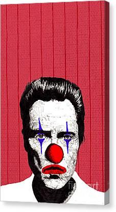 Christopher Walken 2 Canvas Print