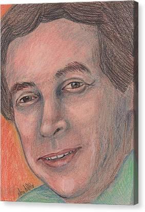 Diversity Canvas Print - Christopher Weaver By Robin Holder by Robin Holder