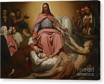 Christus Consolator Canvas Print by Ary Scheffer