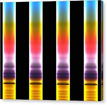 Chromatography Canvas Print by Mehau Kulyk