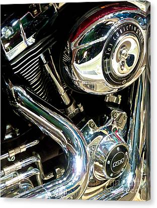Chrome Beauty 1 Canvas Print by Ken Lerner