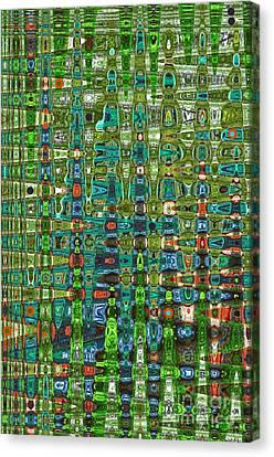 Chromosome 22 Canvas Print by Diane E Berry