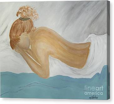 Chronic Pain Canvas Print by Marsha Heiken