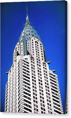 Building Canvas Print - Chrysler Building by John Greim