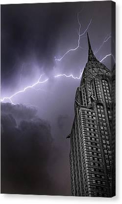 Chrysler Building Canvas Print by Martin Newman
