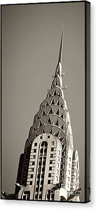 Chrysler Building New York City Canvas Print by Juergen Held