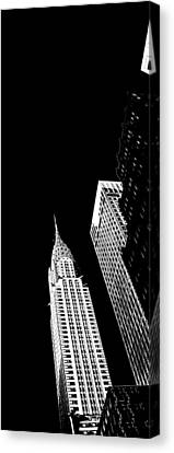 Chrysler Building Canvas Print - Chrysler Nights by Az Jackson