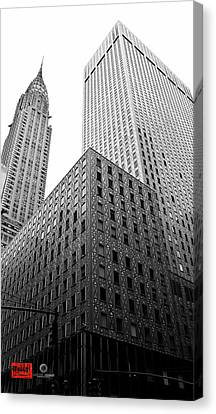Nudes Canvas Print - Chrystler Lofts by Rennie RenWah