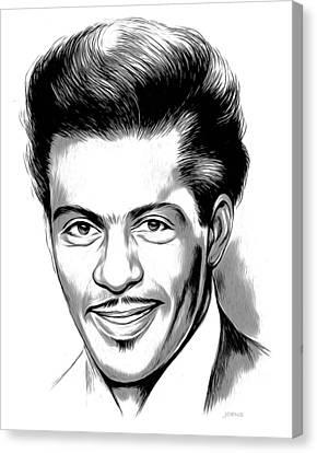 Chuck Berry 2 Canvas Print by Greg Joens