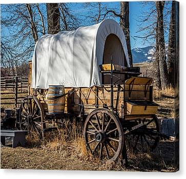 Chuck Wagon Canvas Print by Paul Freidlund