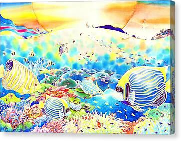 Churaumi Kerama Canvas Print by Hisayo Ohta
