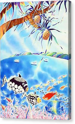 Churaumi Paradise Canvas Print by Hisayo Ohta