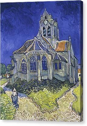 Church At Auvers Canvas Print