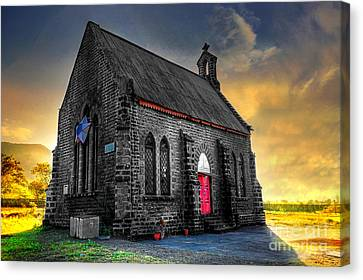 Church Canvas Print by Charuhas Images