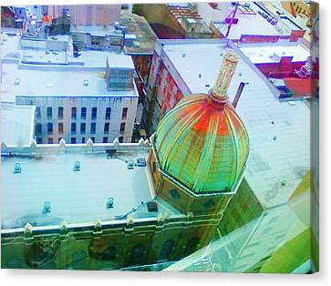 Church Dome II Canvas Print