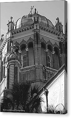 Church Dome Canvas Print by Janice Spivey