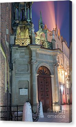 Canvas Print featuring the photograph Church Door by Juli Scalzi