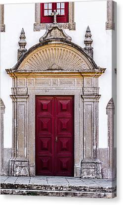 Church Door Canvas Print by Marco Oliveira