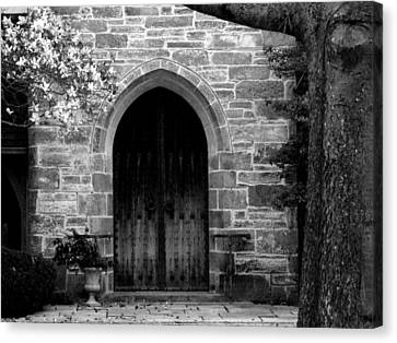 Church Door Canvas Print