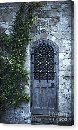 Church Door Canvas Print by Svetlana Sewell