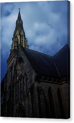 Church In Bournemouth - Uk Canvas Print