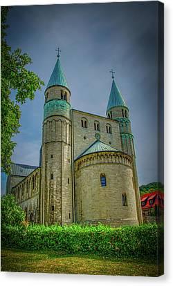 Church In Germany - Stiftskirche St. Cyriakus, Gernrode Canvas Print