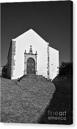 Church Canvas Print - Church Of Misericordia In Monochrome by Angelo DeVal