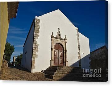 Church Of Misericordia. Portugal Canvas Print