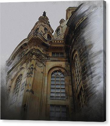 Church Of Our Lady Canvas Print by Gina Harrison