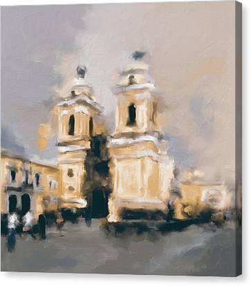 Church Of San Francisco 566 2 Canvas Print by Mawra Tahreem