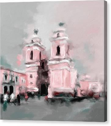 Church Of San Francisco 566 3 Canvas Print by Mawra Tahreem
