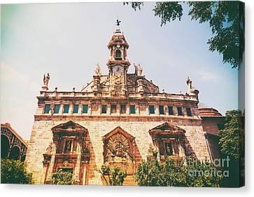 Church Of San Juan Del Mercado Canvas Print