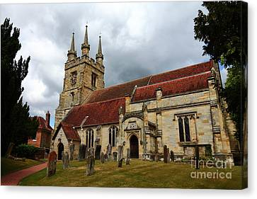 Church Of St John The Baptist Penshurst England Canvas Print by James Brunker