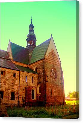 Church Of The Blessed Virgin Mary And St. Florian In The Wachock Canvas Print