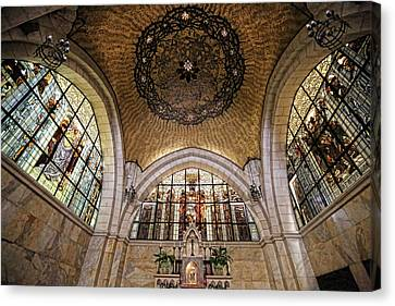 Church Of The Flagellation Canvas Print by Stephen Stookey