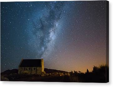 Church Of The Good Shepherd 2 Canvas Print by Martin Capek