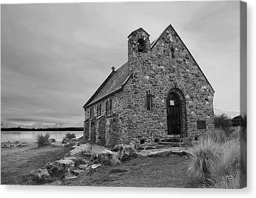 Church Of The Good Shepherd Canvas Print by Andrea Cadwallader