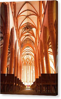 Church Of The Holy Spirit Canvas Print