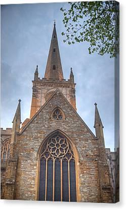 Church Of The Holy Trinity Stratford Upon Avon 1 Canvas Print by Douglas Barnett
