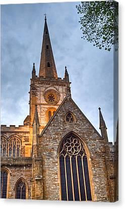 Church Of The Holy Trinity Stratford Upon Avon 2 Canvas Print by Douglas Barnett
