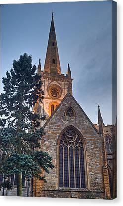 Church Of The Holy Trinity Stratford Upon Avon 4 Canvas Print by Douglas Barnett