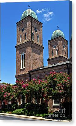 Canvas Print featuring the photograph Church Of The Immaculate Conception One by Ken Frischkorn