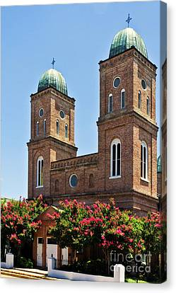 Canvas Print featuring the photograph Church Of The Immaculate Conception Three by Ken Frischkorn