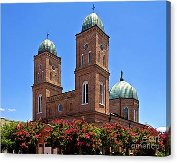 Canvas Print featuring the photograph Church Of The Immaculate Conception Two by Ken Frischkorn