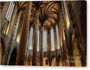 Canvas Print featuring the photograph Church Of The Jacobins Interior by Elena Elisseeva