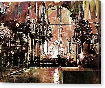 Church Of The Nativity Bethlehem Canvas Print