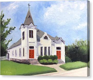 Church On 12th South, Nashville Canvas Print