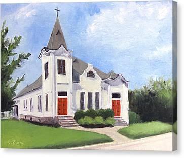 Church On 12th South, Nashville Canvas Print